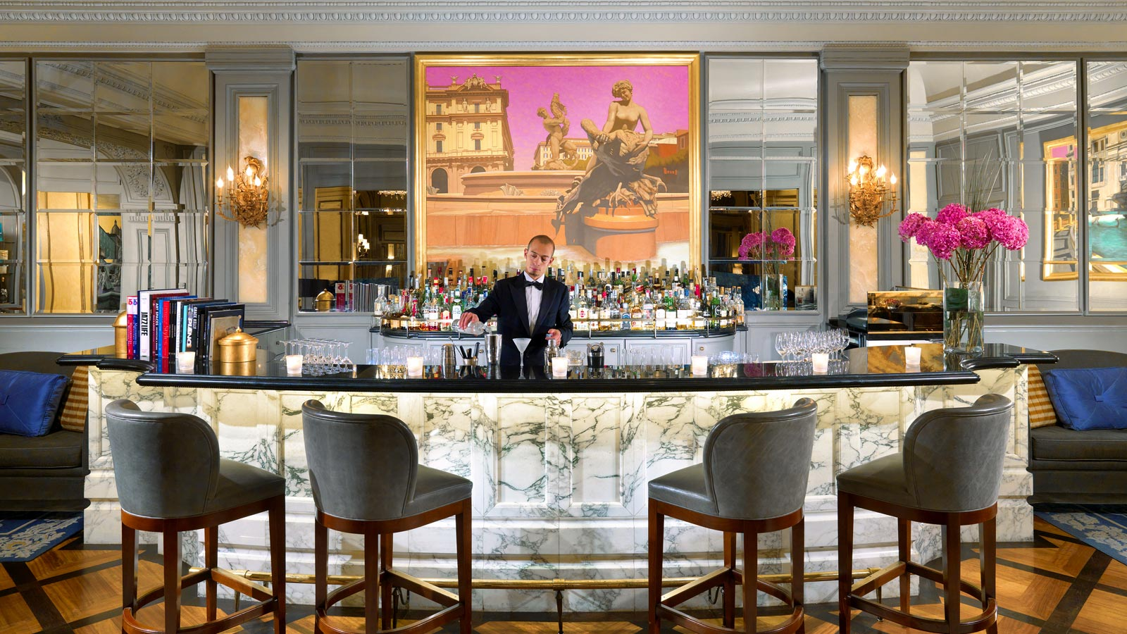 Le Grand Bar at The St. Regis Rome