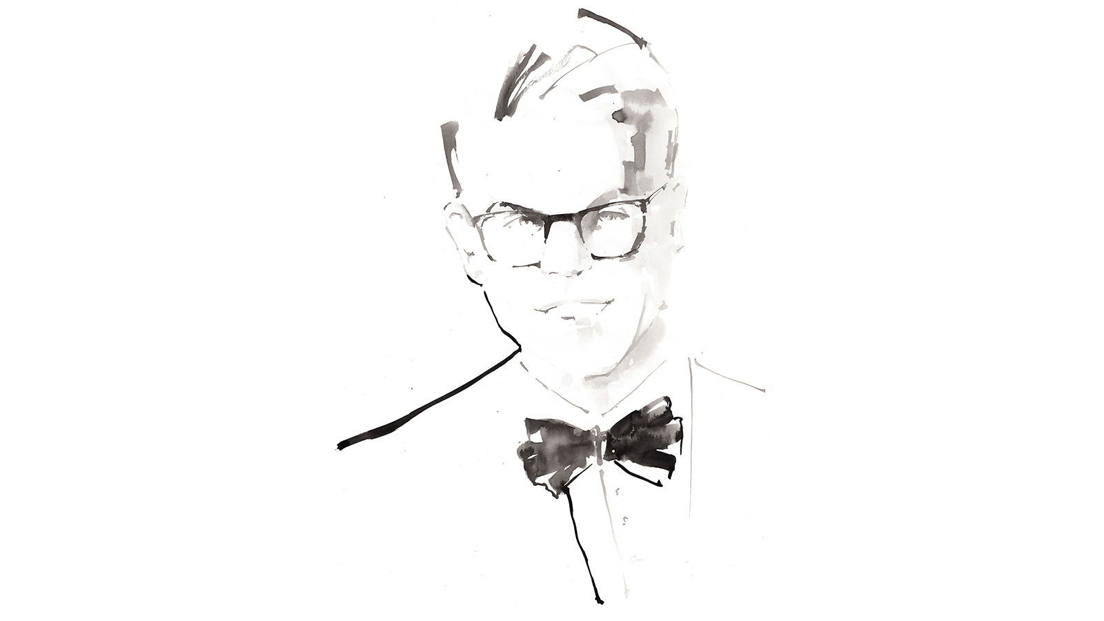 The St. Regis Rome Headbutler Guillaume Illustration