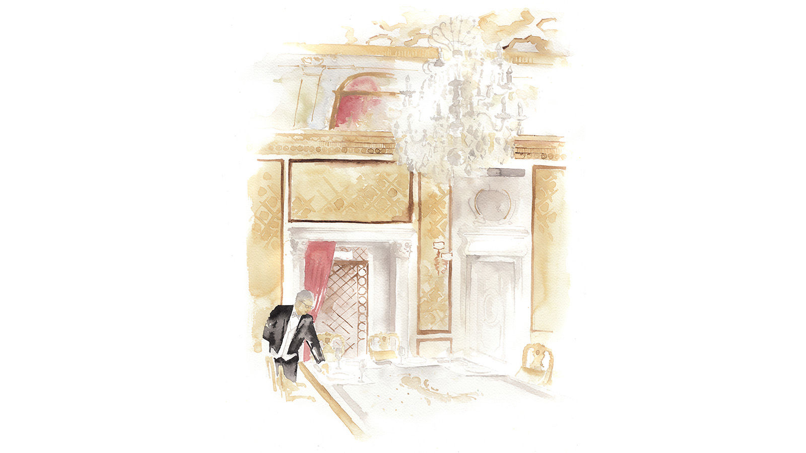 The St. Regis Rome Royal Suite Illustration