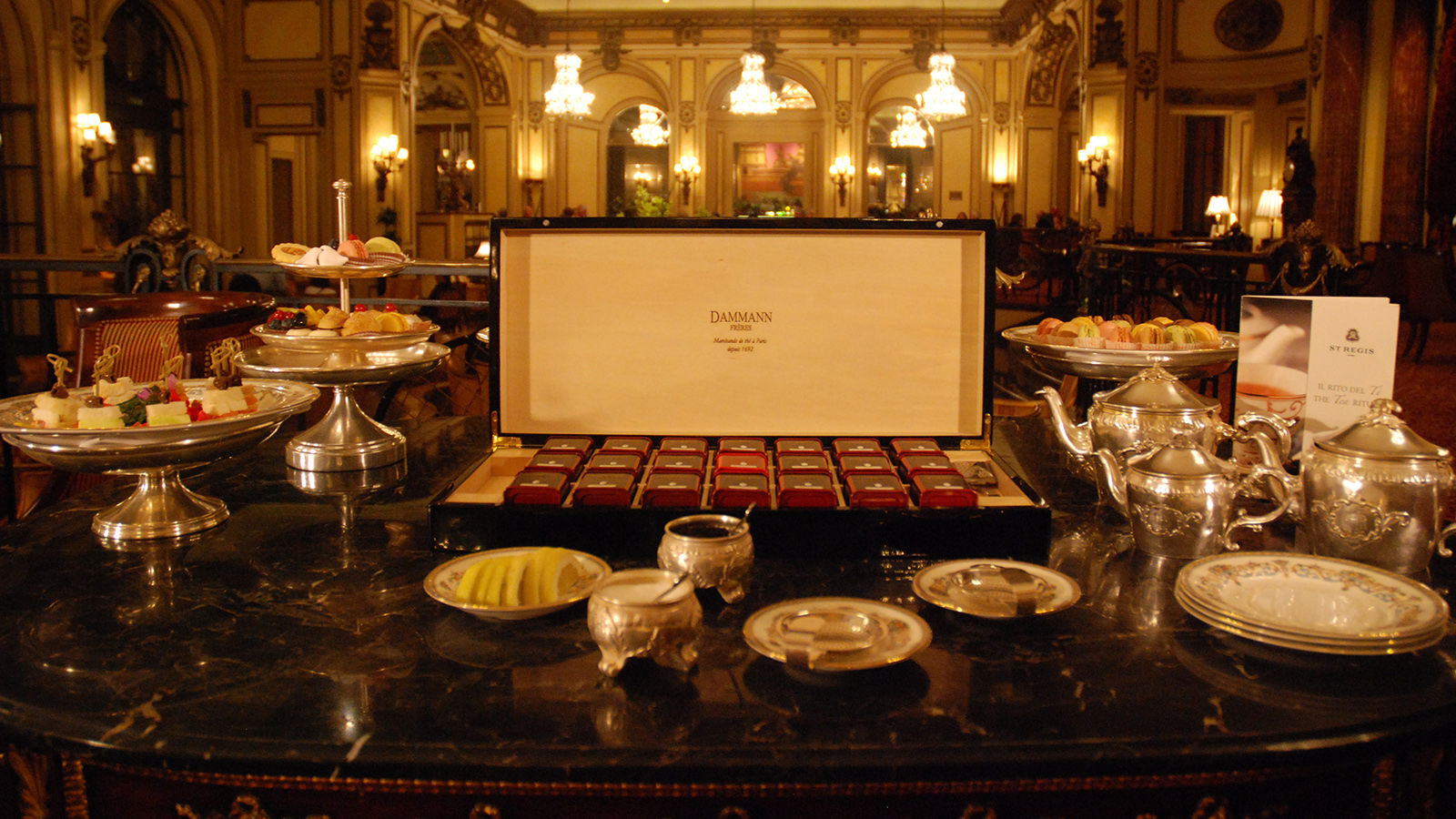 The St. Regis Afternoon Tea