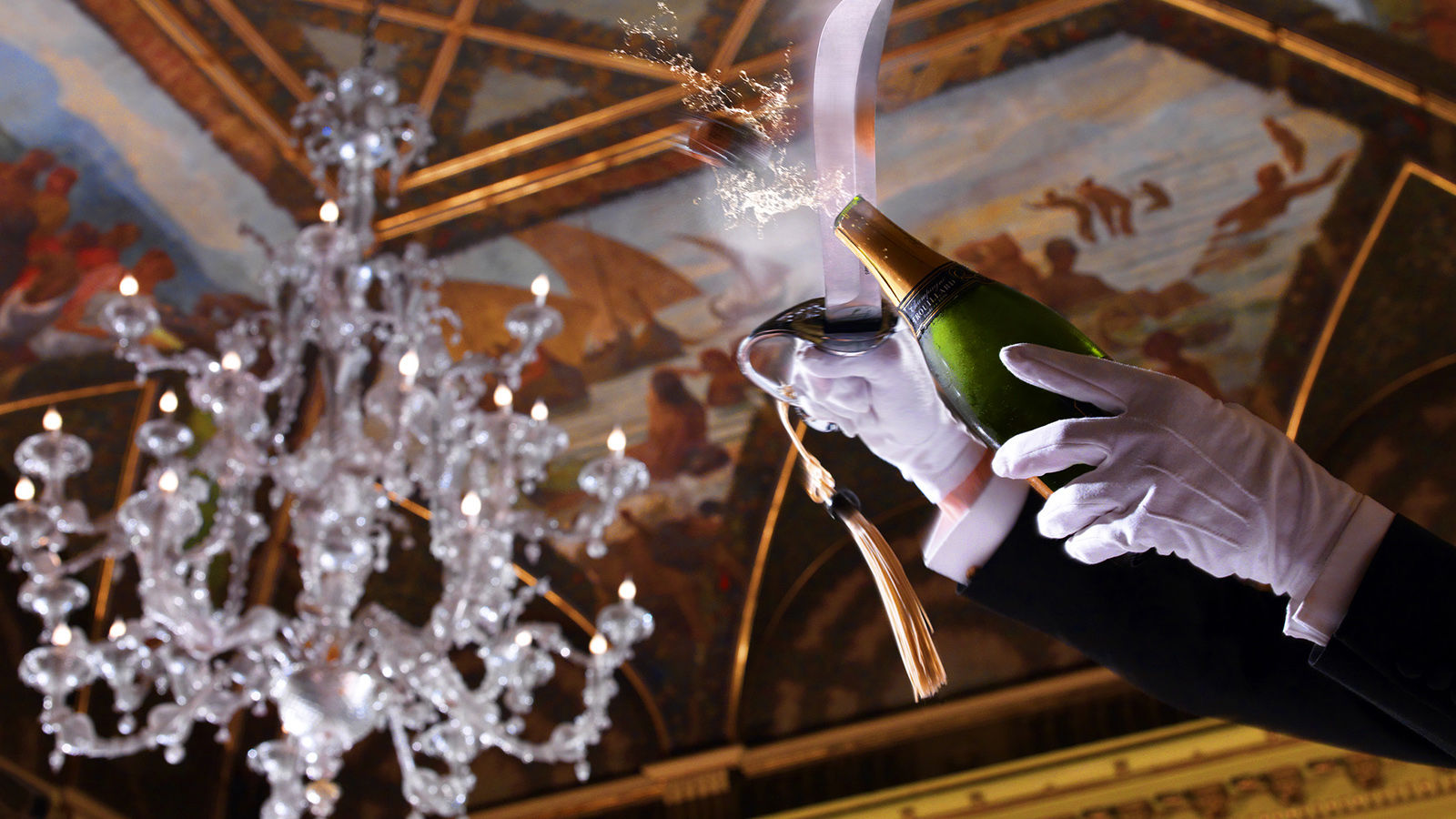 The St. Regis Rome Champagne Sabering