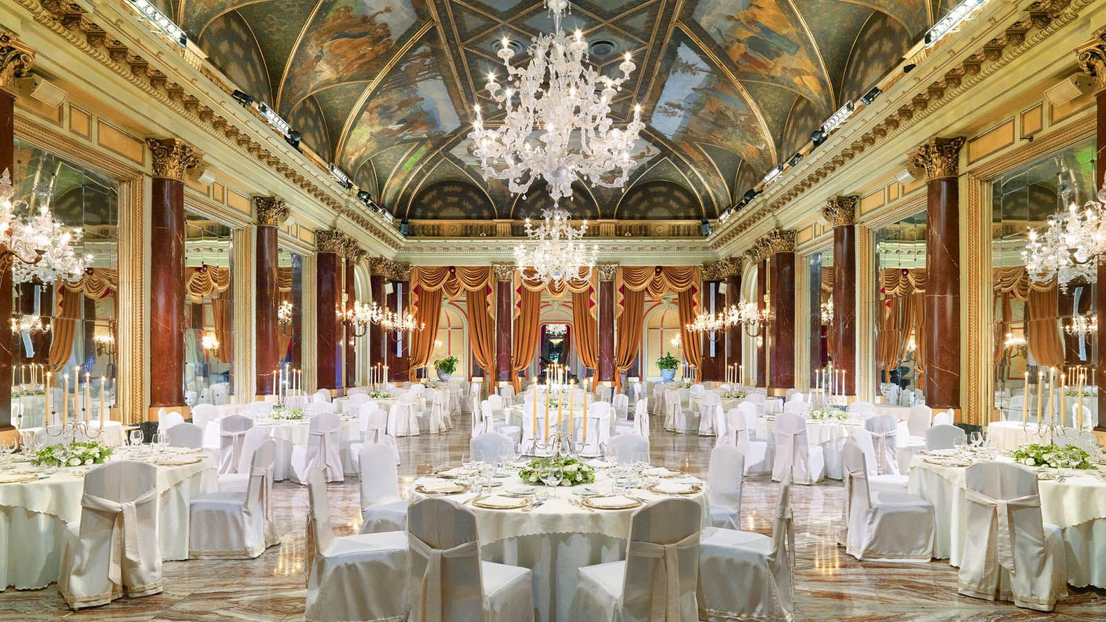 The Ritz Ballroom at The St. Regis Rome