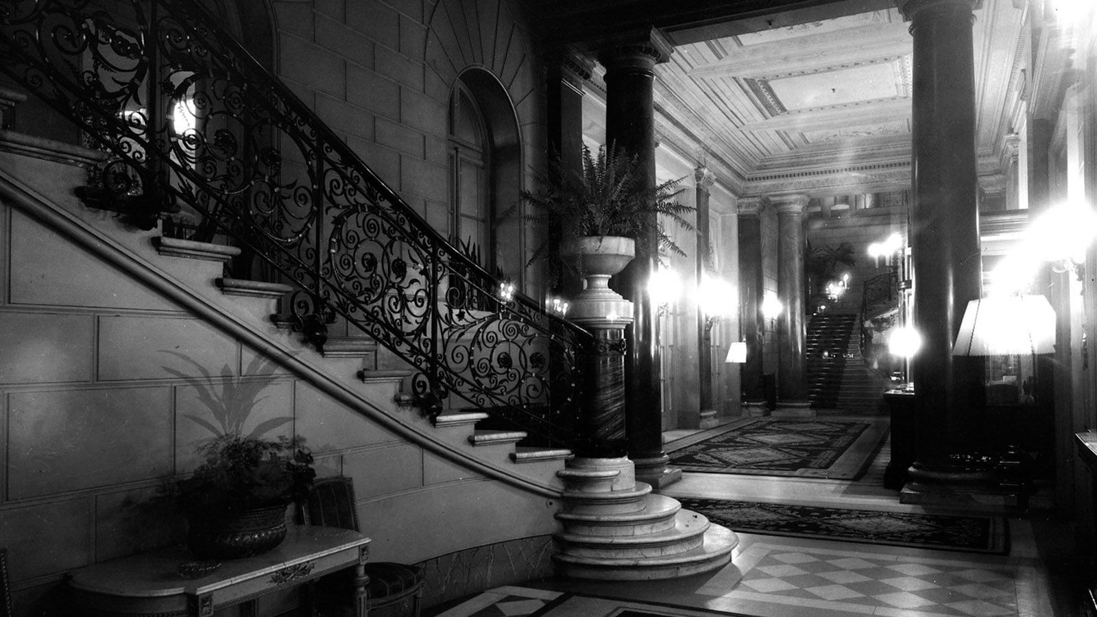 The St. Regis historic Staircase