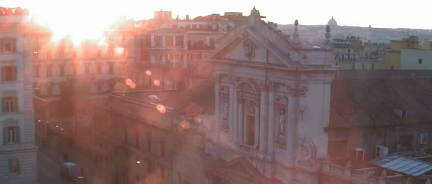 A favourite view from The St. Regis Grand Hotel, Rome